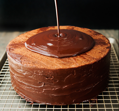 Бисквитный торт с пропиткой - фото шаг 16