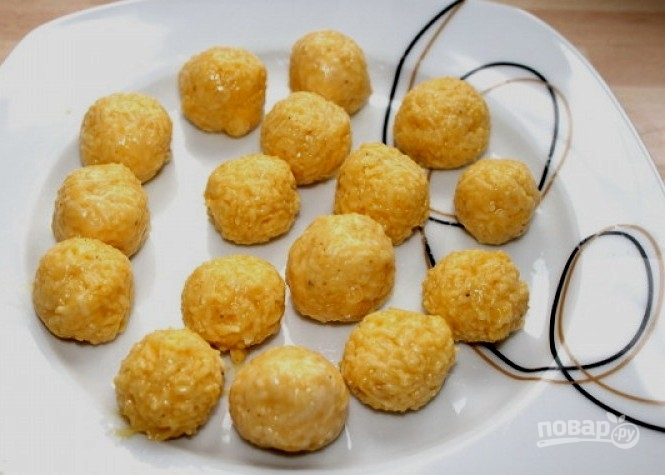 Сырные клецки для супа