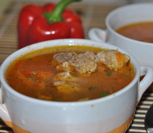 Вкусный суп из свинины - фото шаг 5