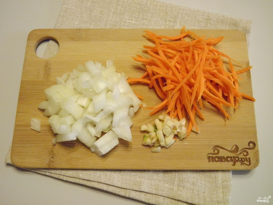 Крем-суп из чечевицы - фото шаг 4