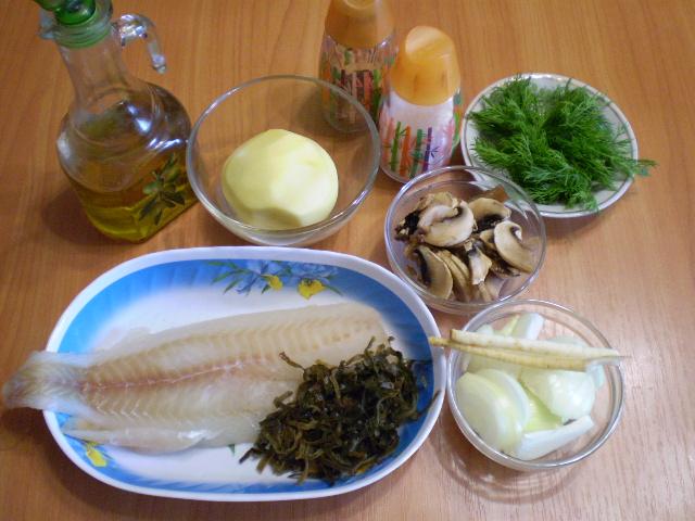 Рецепт Суп рыбный с грибами