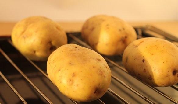 Рецепт Картофель с брокколи в духовке