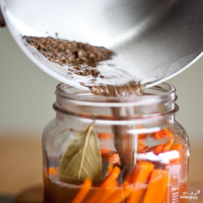 Маринованная морковь - фото шаг 4