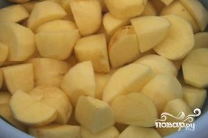 Рецепт Картофель с баклажанами по-китайски