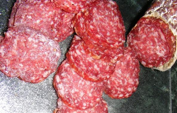 Eлочка из сыра и колбасы - фото шаг 2