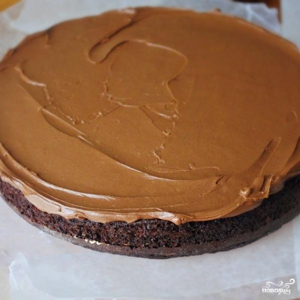 Кофейный торт - фото шаг 12