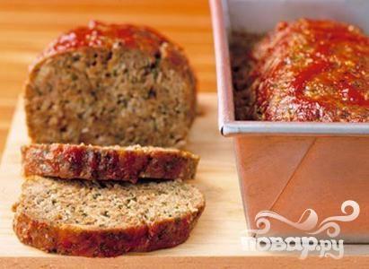Рецепт Мясной рулет с соусом чили