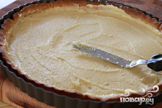 Миндальный пирог с грушами - фото шаг 7