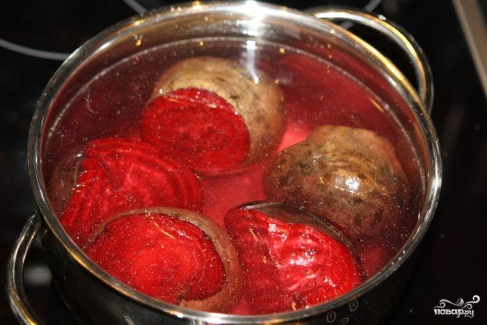 Рецепт Салат рыбный с картофелем