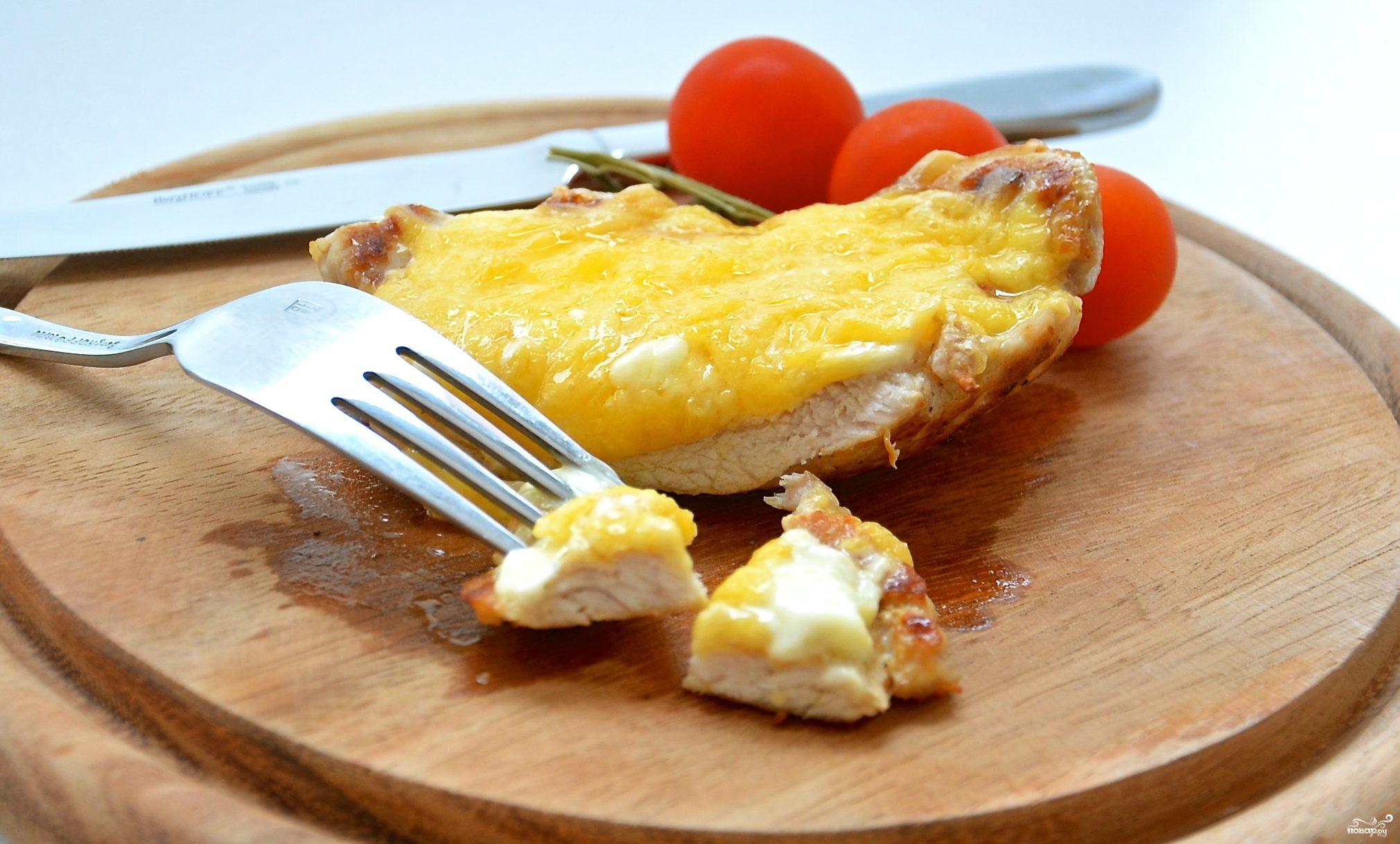 Рецепт Отбивные под сыром