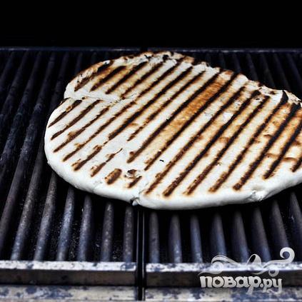 Пицца на гриле на завтрак - фото шаг 3