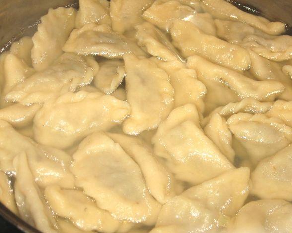 Рецепт Вареники в горшочках