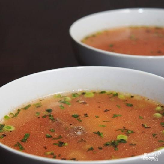 Томатный суп с рисом - фото шаг 18