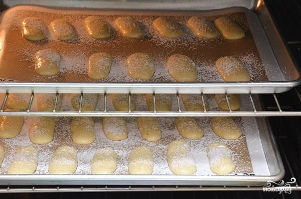 Бисквитное печенье Савоярди - фото шаг 8