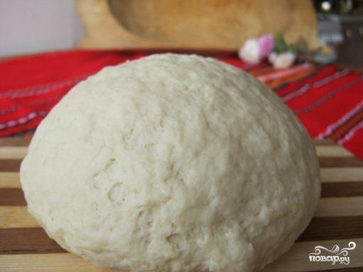 Рецепт Бездрожжевое тесто на кефире