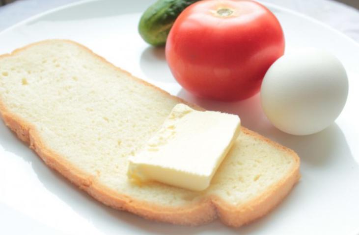 Рецепт Бутерброды вегетарианские