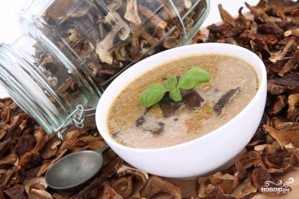 Рецепт Суп из шампиньонов с картофелем