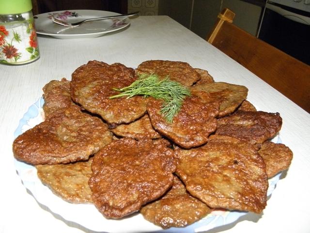 котлеты из говяжьей печени с манкой рецепты с фото