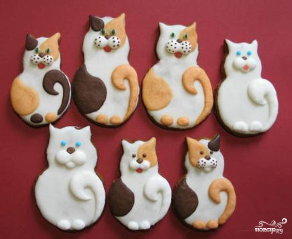 "Печенье ""Кошка"" - фото шаг 5"