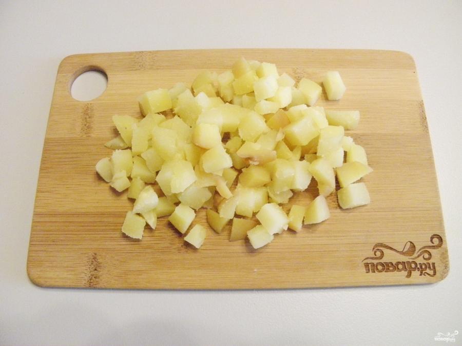 Салат с картошкой и сыром - фото шаг 2