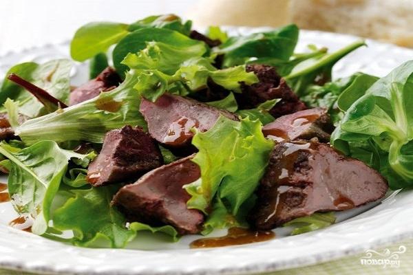 Рецепт Диетические блюда из печени говяжьей