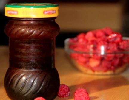 Желе из малины без желатина - фото шаг 5