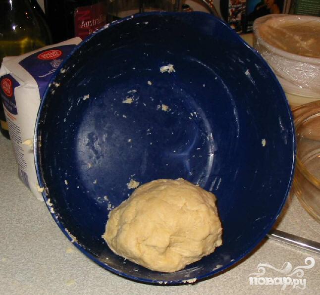 Пирог с курицей и беконом - фото шаг 3