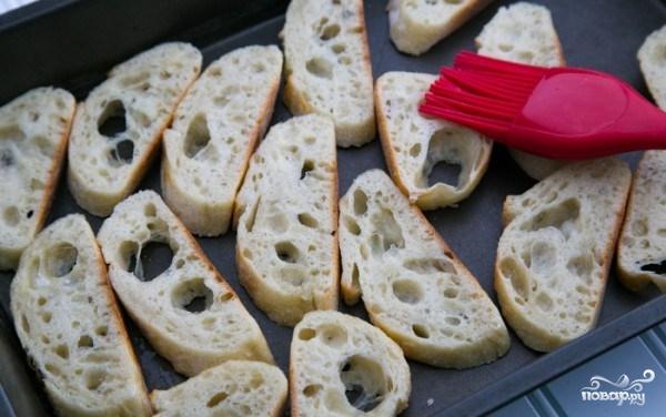 Бутерброды с красной рыбой - фото шаг 3
