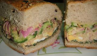 "Сэндвич с салатом ""Ницца"" - фото шаг 10"