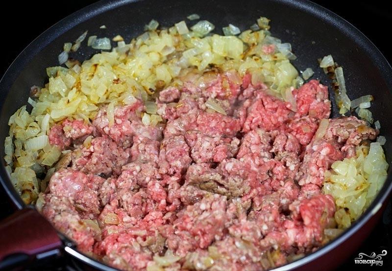 Картофель с фаршем в духовке - фото шаг 3