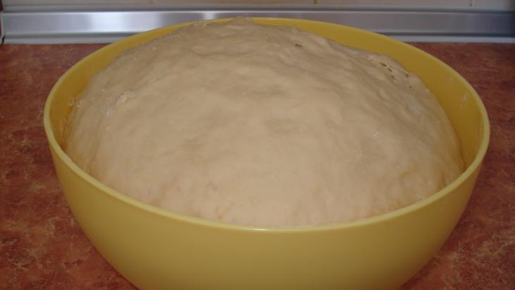Пирожки с горохом в духовке - фото шаг 3