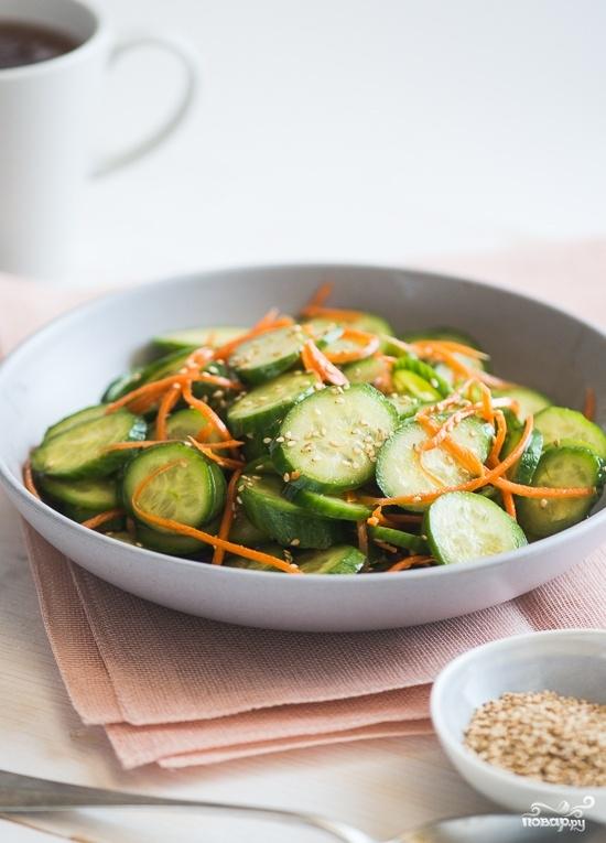 Салат с имбирем для похудения - фото шаг 5