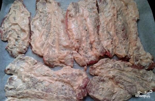 Рецепт Свинина по-гусарски