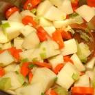 Рецепт Овощной суп с перловкой