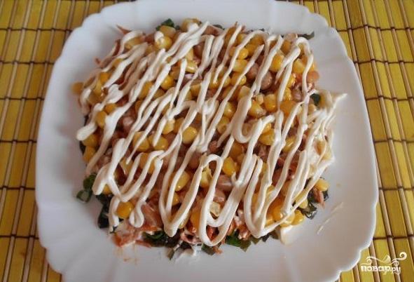 Салат из морской капусты с морковью - фото шаг 10