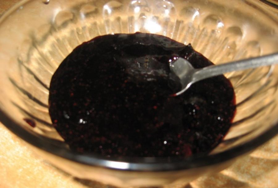 Черничный пирог с шоколадом - фото шаг 6