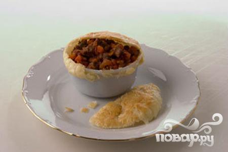 Рецепт Мясной пай