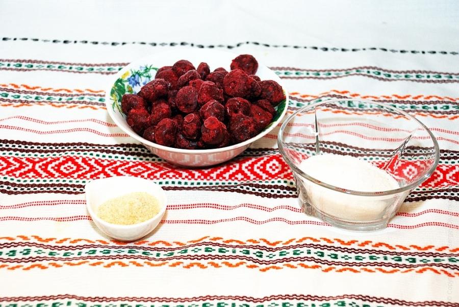 Рецепт Желе из вишни без косточек на зиму