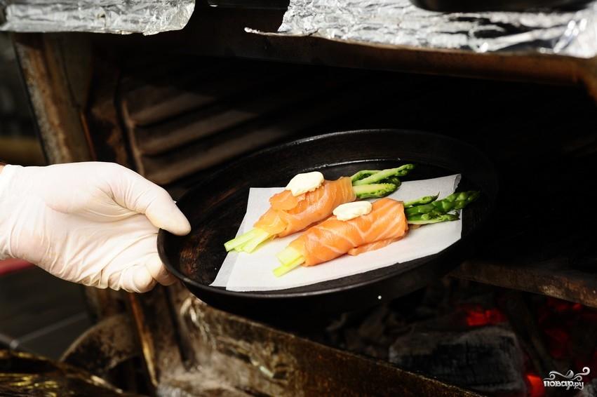 Спаржа с лососем - фото шаг 18