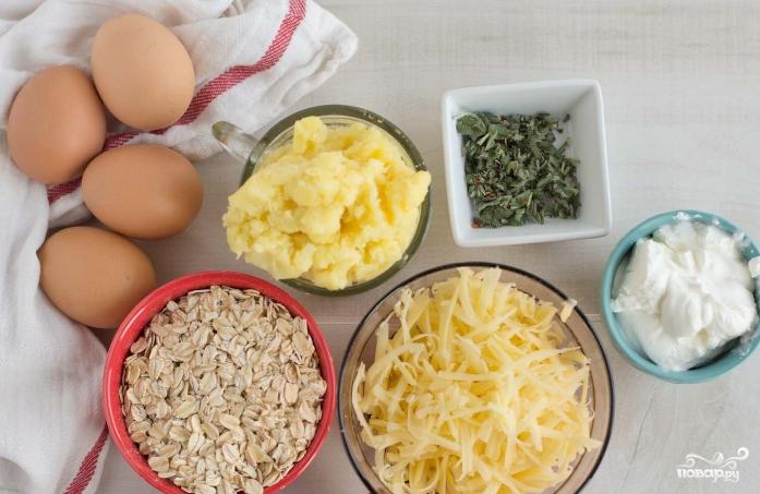 Картофельные оладьи с сыром - фото шаг 1