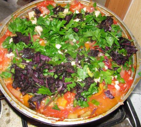 рецепт рагу с курицей и овощами в кастрюле