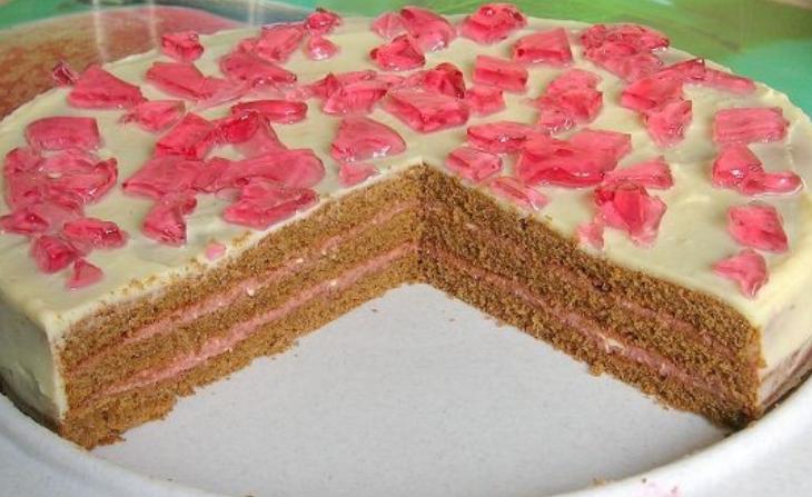 Торт на день рождения девочке 12 лет - фото шаг 9