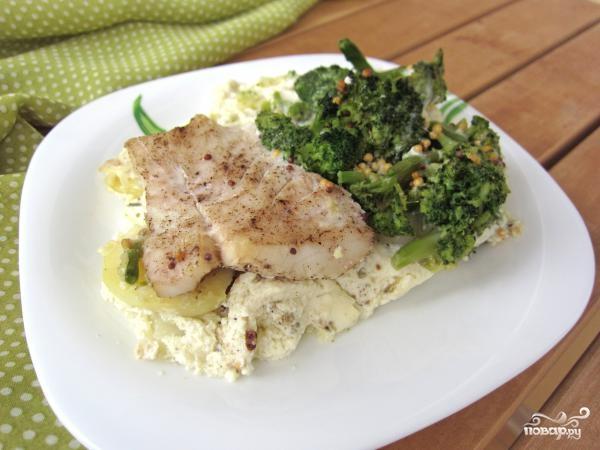 рецепт брокколи в фольге в духовке рецепт с фото