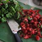 Рецепт Кус-кус с мангольдом, изюмом и сыром Фета