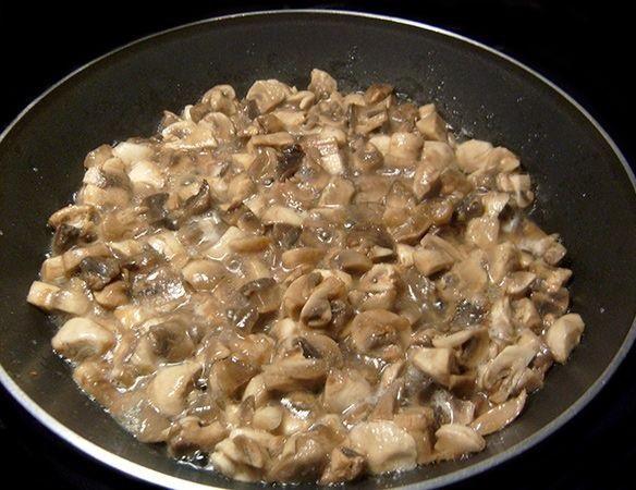 Салат с грибами и ветчиной - фото шаг 1