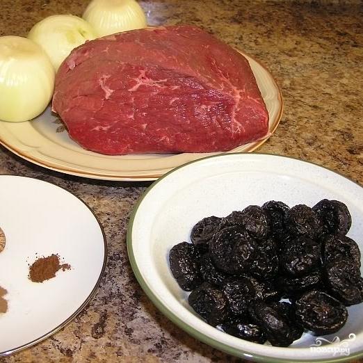Рецепт Говядина с черносливом
