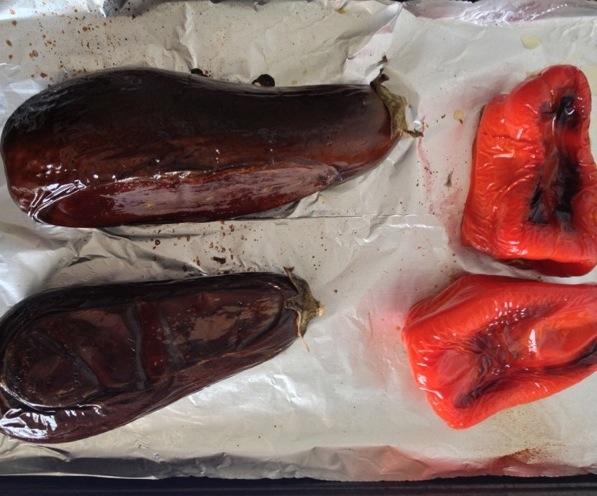 Рецепт Икра из баклажанов и перца