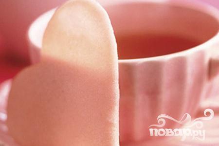 Рецепт Печенье Розовые сердечки