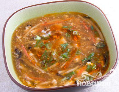 Суп с курицей и кукурузой