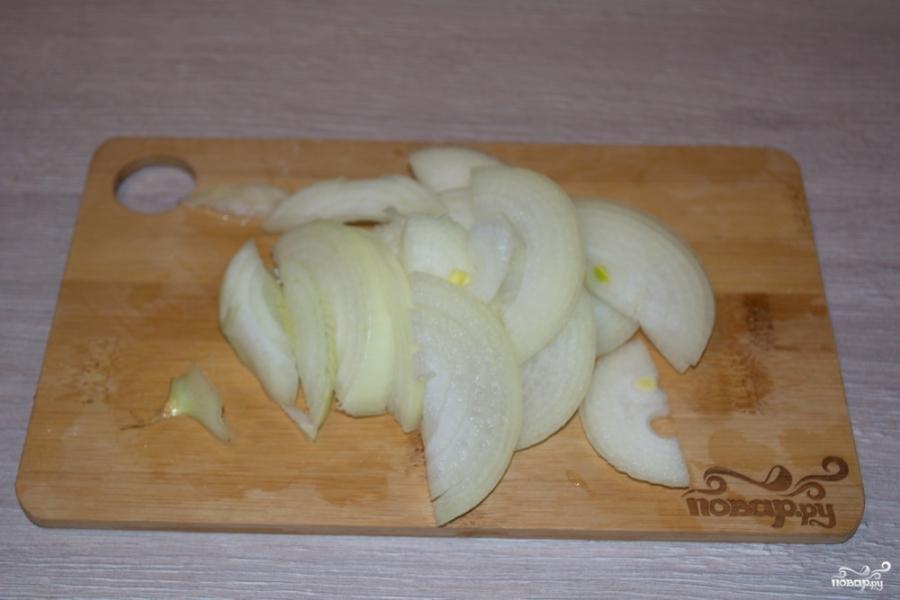Курица под сырным соусом  - фото шаг 3